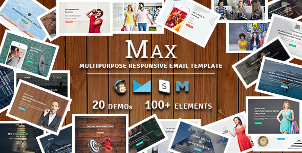 macho - multipurpose responsive email template (newsletters) Macho – Multipurpose Responsive Email Template (Newsletters) max