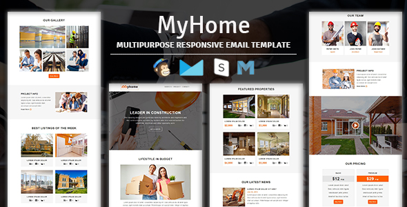 Digit - Multipurpose Responsive Email Template With Stampready Builder & Mailchimp Access - 3