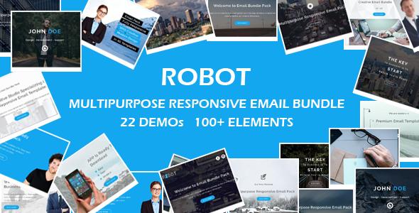 Vibgyor - Multipurpose Creative Email Template - 1