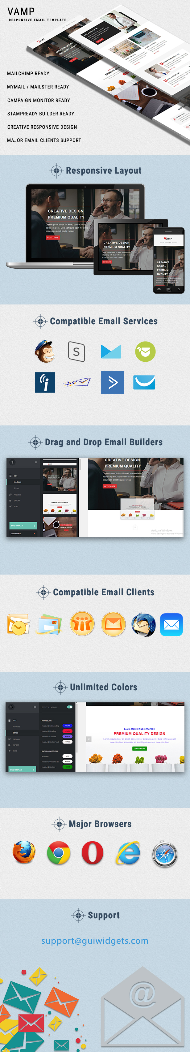 Vamp Email Template