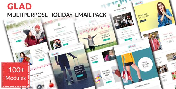 MAX - Multipurpose Responsive Email Pack - 2